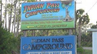 kayak camping Indian pass Florida