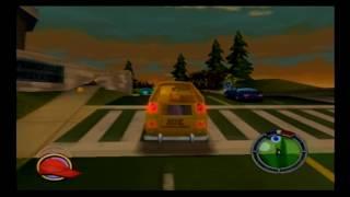 The Simpsons Hit & Run PS2 Walkthrough Part 10 Bonfire of The Manatees, Operation Hellfish