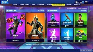 BOUTIQUE FORTNITE DU 28 JANVIER 2019 - FORTNITE ITEM SHOP JANUARY 28 2019 !! New skin
