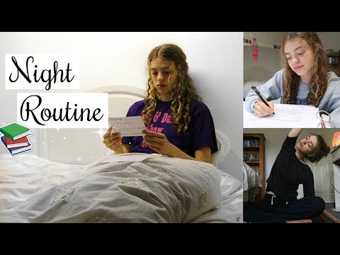 Exam Night Routine 2018: Revise, Relax & Repeat. (Night Before an Exam!!) x