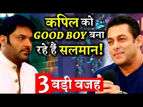 3 BIG PROOFS: Salman Khan is Trying Really Hard To Make Kapil Sharma's Good Image