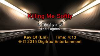 Fugees ftg. Lauryn Hill - Killing Me Softly (Backing Track)