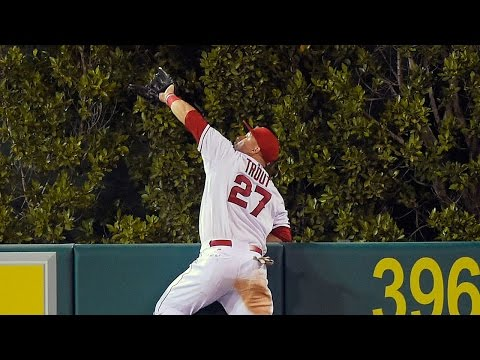 Top 10 Mike Trout Catches