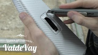 как наклеить плёнку на автомобиль видео