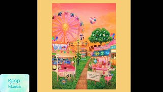 Gwsn (공원소녀) ('the 3rd mini album'[the park in the night part three]) audio track list: 1. red-sun (021) 2. all mine (coast of azure) 3. interpretation of...