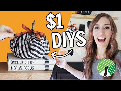Halloween Hacks from the Dollar Tree | $1 DIYs