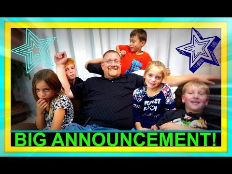 Download Youtube: BIG ANNOUNCEMENT! | FAMILY VLOGS!