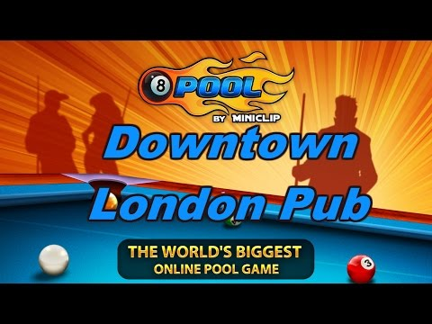 "Let's Play ""8 Ball Pool"" - Downtown London ""Pub"""