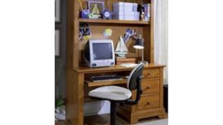 Cottage Computer Desk With Hutch Finish: (home)