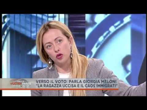 2018.02.09 Giorgia Meloni, i fatti di Macerata