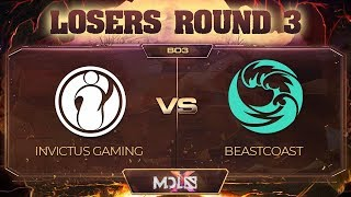 Invictus Gaming vs beastcoast Game 3 - MDL Chengdu Major: Losers' Round 3