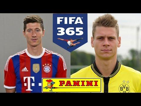 ROBERT LEWANDOWSKI vs ŁUKASZ PISZCZEK * KARCIANY POJEDYNEK FIFA 365