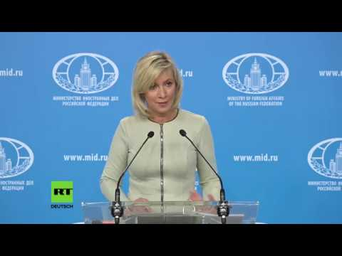 Maria Sacharowa zum Mord in Berlin-Moabit: