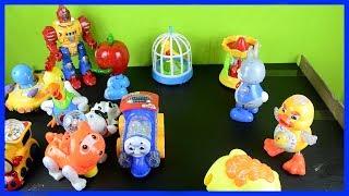 Oyuncak Ufo, Robot, Bugs bunny - Işıklı ve müzikli oyuncaklar -  Video for Kids - Sam's Toys