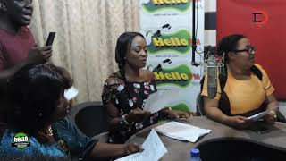 Matilda Asare,Mama Cali ,Mary Agyemang   and  Stars take over radio on founders Day