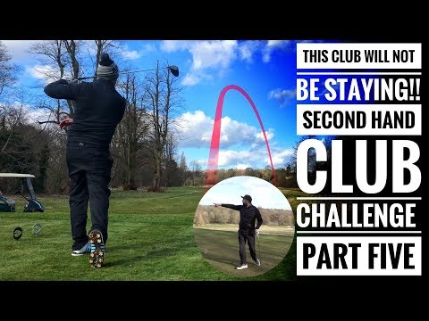 This club will NOT BE STAYING! Golfbidder Second Hand Club Challenge - Rick vs Pete - Part Five