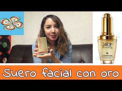 Suero facial con oro (24k Gold Skin Care)