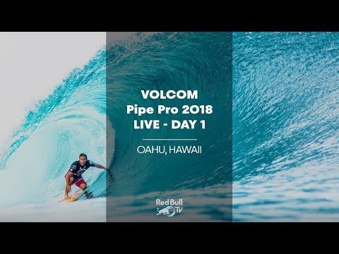 Surfing LIVE - Volcom Pipe Pro 2018 - Day 1