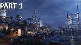 The Elder Scrolls Online: Dark Brotherhood(DLC) Gameplay - Part 1 Gold Coast