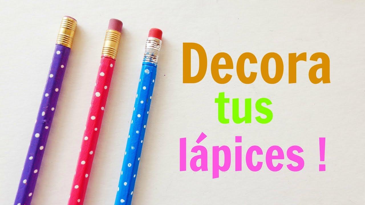Imagenes De Lapices Decorados