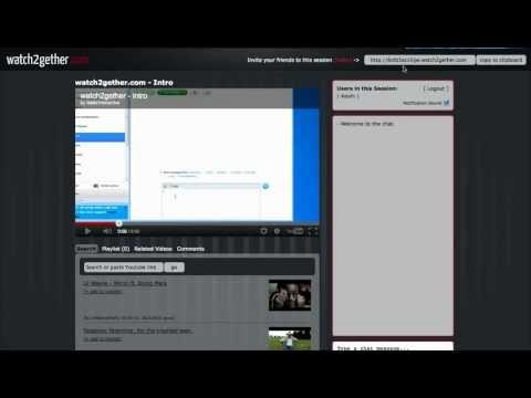 Watch2gether.com Demo