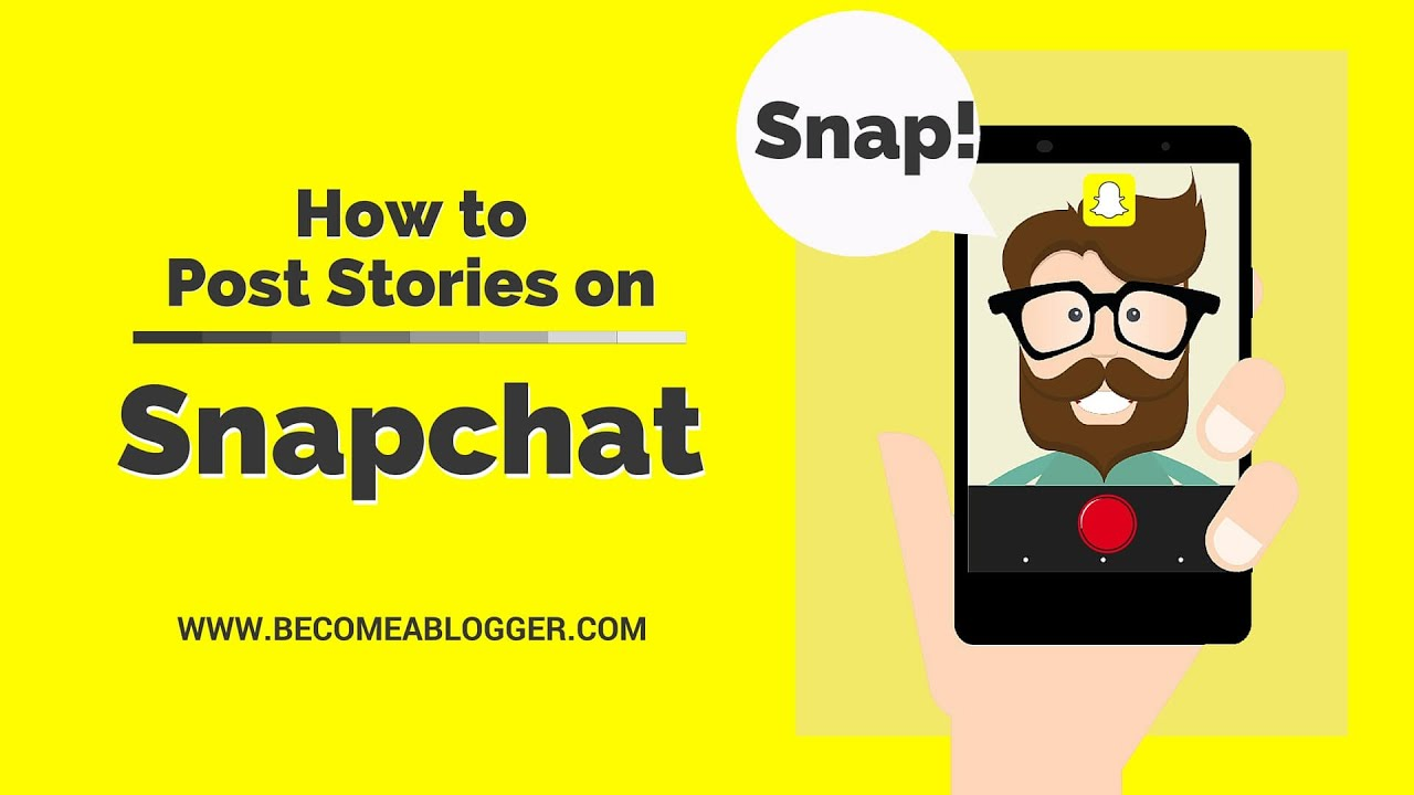 How to post pictures on snap story