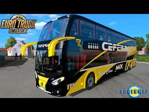 ETS2 |Rutas Argentinas| #133 - Choele choel - Villa Maria - Metalsur Starbus 3 - Directo