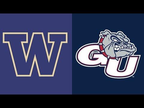 Highlights - Gonzaga Basketball vs Washington - December 7, 2016