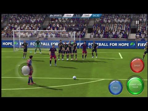 FIFA16 Mobile| FIRST FREEKICK!!