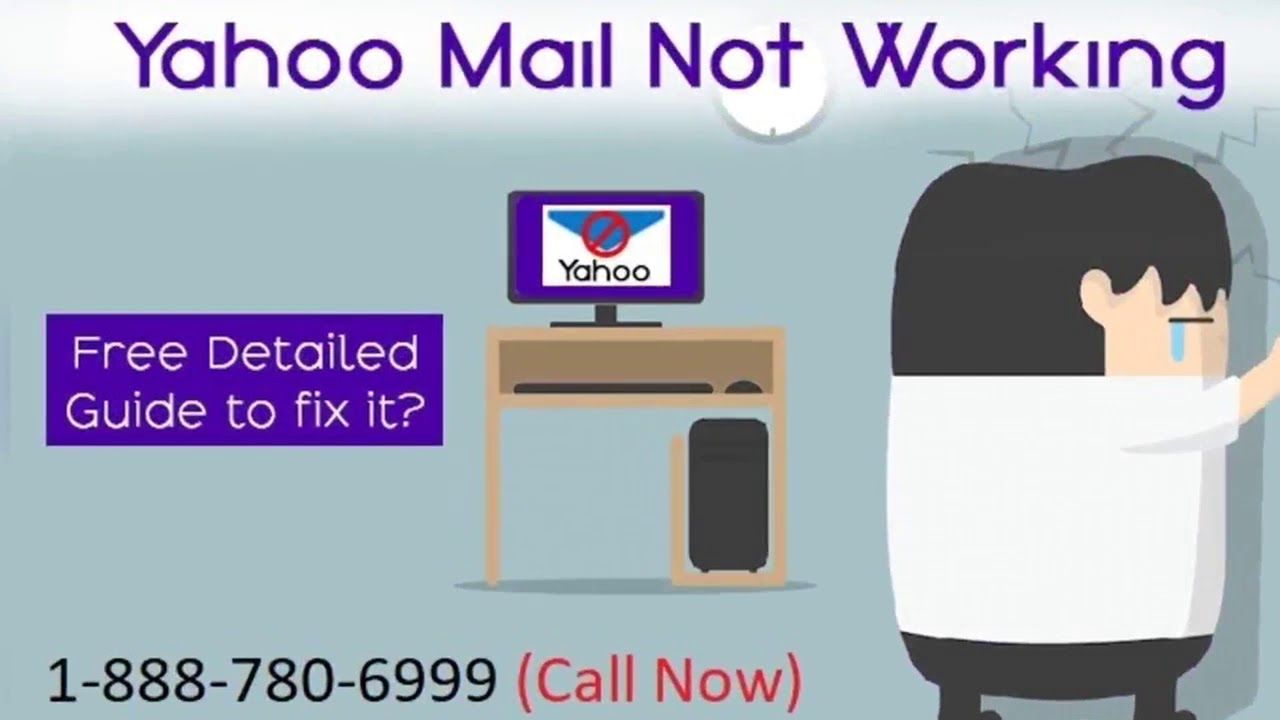 1 888 780 6999 How To Fix Yahoo Mail Not Working on iPhone