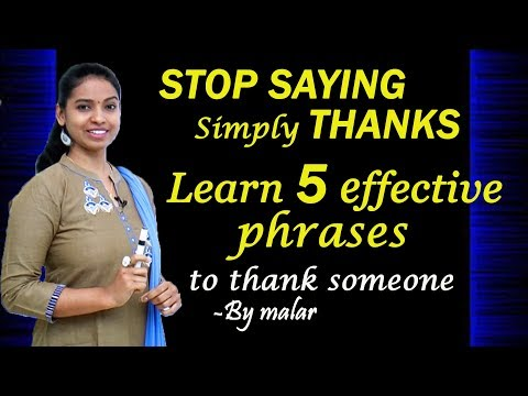 Spoken Tips by Malar #94 - Learn English with Kaizen through Tamil
