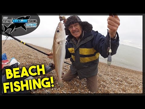 Fishing One of THE BEST BEACHES in the UK!