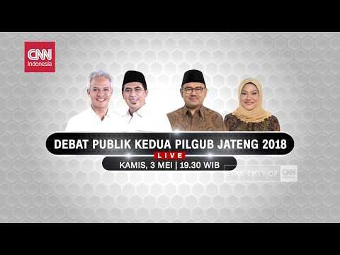 CNN Indonesia - Debat Publik Kedua PILGUB JATENG 2018