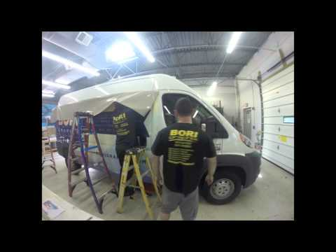 BORI Graphix Dodge Ram ProMaster Vinyl Wrap