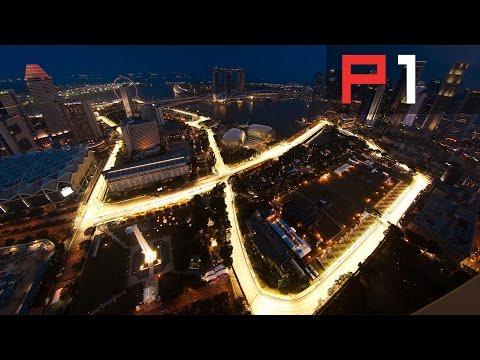 F1 Lewis Hamilton's Singapore Grand Prix Preview - 2015