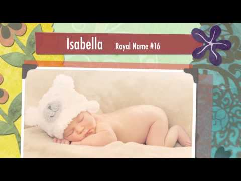 Top 10 names for royal baby