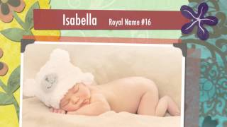 Baby Names: 40 British Royal Baby Girl Names