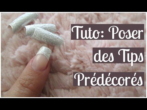 TUTO Poser des Tips Prédécorés | Melissa Easy Nails