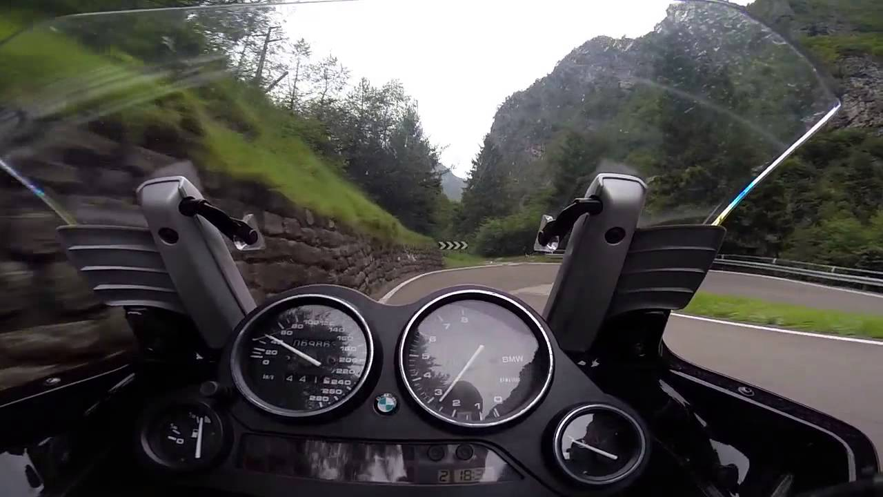 On Board Gopro Bmw K 1200 Rs Del 2001 Youtube