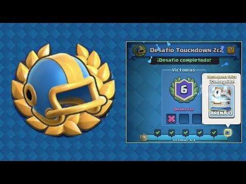 Clash Royale 🏆Desafío TouchDown 2c2 con amigos de 🛡VAE VICTIS🛡