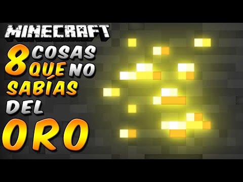 Minecraft: 8 Cosas Que No Sabías Del Oro - Rabahrex