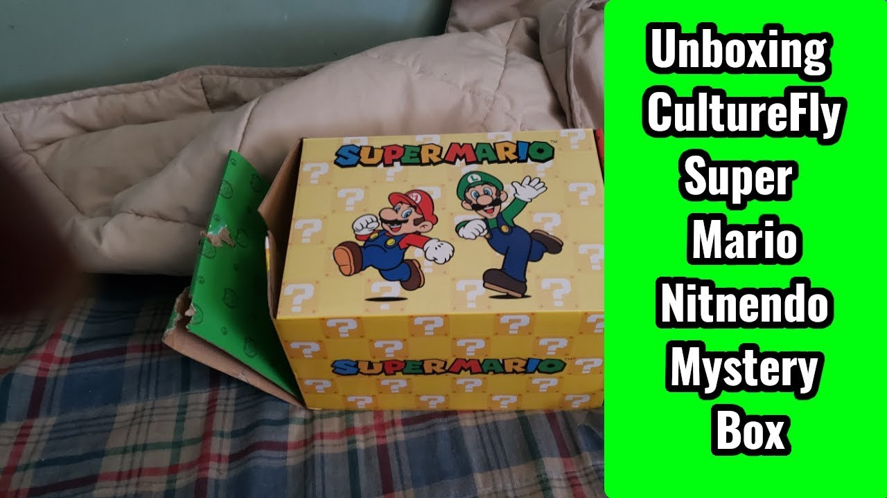 Unboxing CultureFly Super Mario Nitnendo Mystery Box