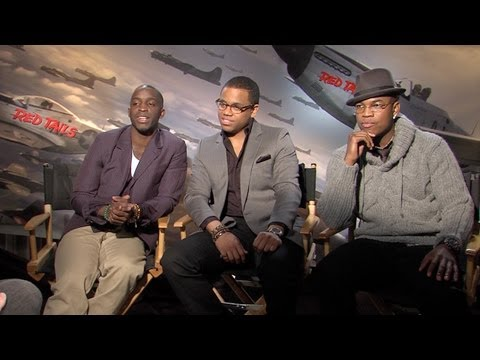 'Red Tails' Elijah Kelly, Tristan Wilds, and Ne-Yo Interview HD