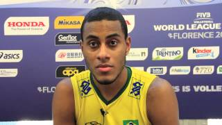 Interview with Lucarelli BRA spiker | 2014 FIVB World League Finals