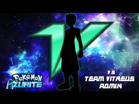 Pokemon Azurite: Threatening Battle! Vs. Team Vitreus Admin