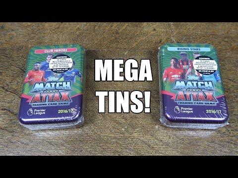 Match Attax 2016/17 - 2 MEGA TIN OPENING!