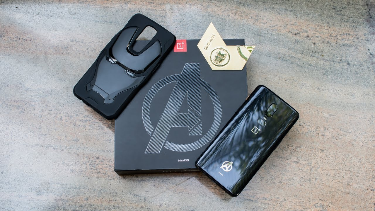 more photos 4b5a5 d341b OnePlus 6 AVENGERS SPECIAL Edition UNBOXING!