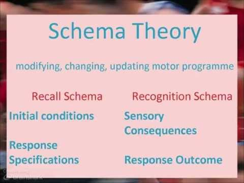 OCR AS PE: Schema Theory