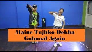 Maine tujhko dekha | golmaal again | pawan roy | dance cover | dancingdevilscrew