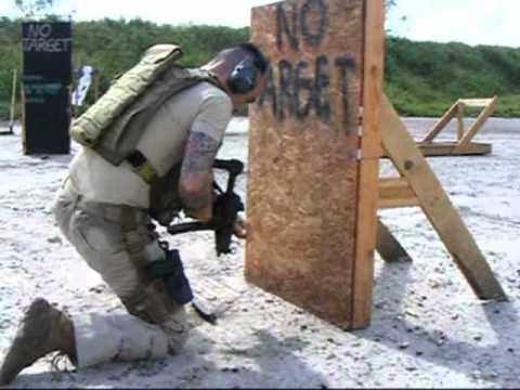 Gunrange with the HK MP5A5 submachinegun